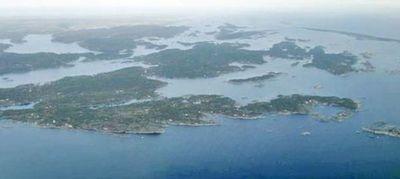 Oppvekst på ei øy