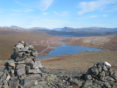 Avsjøen – med spor etter folk frå steinalderen