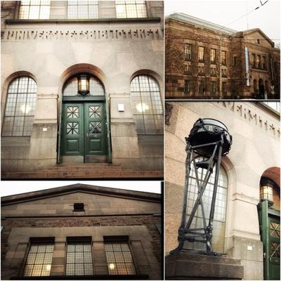 Nasjonalbiblioteket i imponerende, nordisk nybarokk.