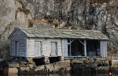 Fjæremannshus i Øygarden