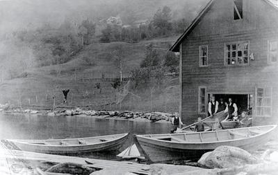 Båtbygging i Strandebarm