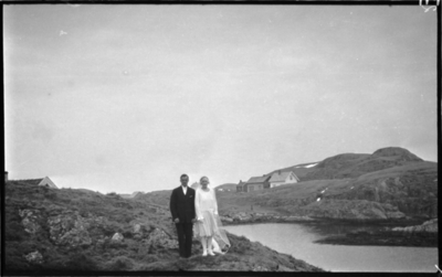 Brudeparet Ragnhild og Kristoffer Karlsen