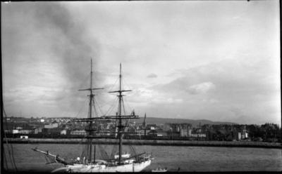Frå Trondheim hamn