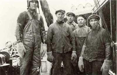 Fiskere i Henningsvær