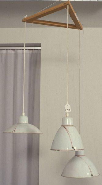 Tre lampeskjermer