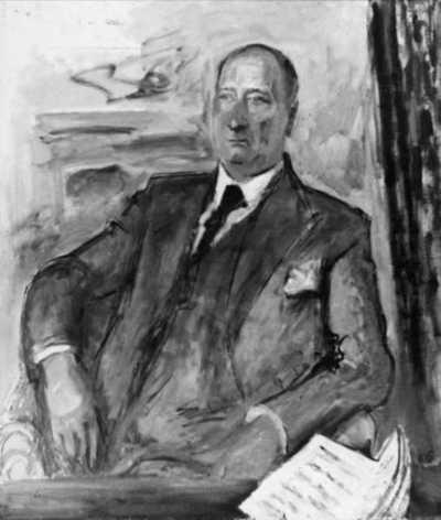 maleri: portrett, mann, komponist, sittende halvfigur