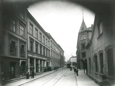 Rosenkrantz gate fra Kjeld Stubs gate.