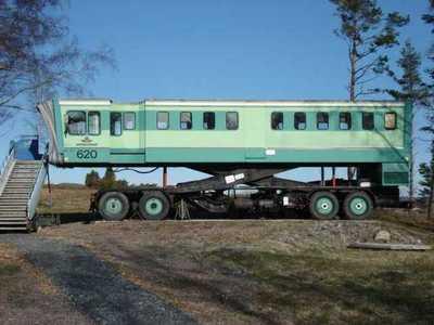 Transportvagn för passagerare