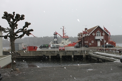 Langesund havn, 12.04.2013.