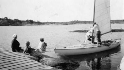 Sommeren 1935. Stoppedalen.