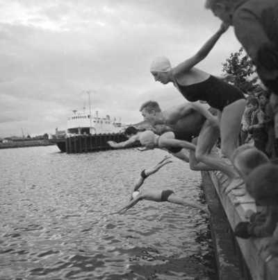 Havnesvømmingen fra Skansen
