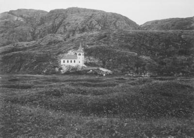 Kong Oscar 2.s kapell i Grense Jakobselv.