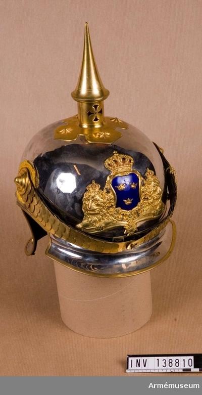 Hjälm m/1879-1900, Hjälm m/1879-1900 för livgardet till häst :