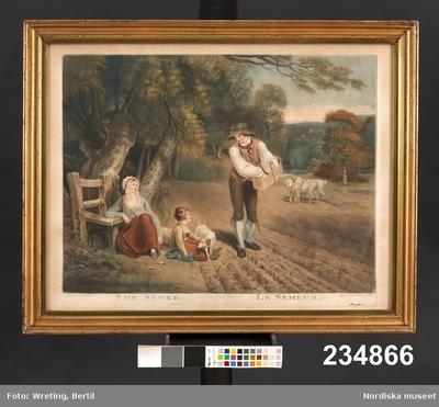 Tavla:The sower - Le semeurs
