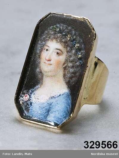 Smycken : Ringar Konst : Tavlor : Miniatyrer