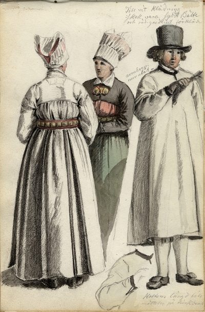 Kläder Kläder : Folkdräkt Kvinna Man