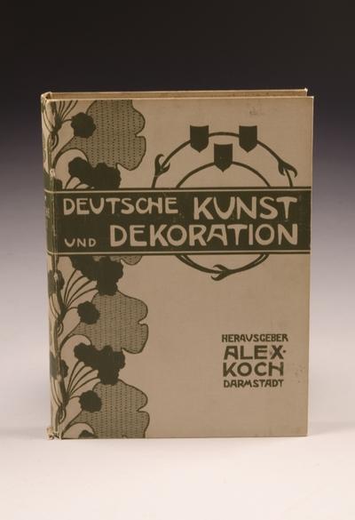 Deutsche Kunst und Dekoration. Band IV