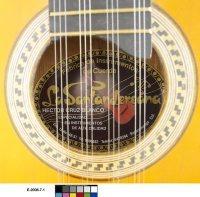 Luth requinto, Hector Cruz Blanco, Bucaramanga, 2006-2007, E.2008.7.1, détail