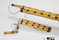 Clarinette double arghul el kebir, Anonyme, Egypte, E.2291, détail