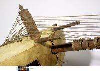 Harpe-luth kasso (kora), Anonyme, Sénégal ou Gambie, E.791, détail
