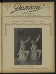 Dansons, n. 89, novembre 1927