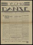 L'Écho de la danse, n. 1, novembre 1938