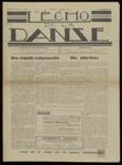 L'Écho de la danse, n. 2, décembre 1938
