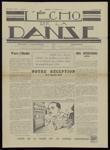 L'Écho de la danse, n. 3, janvier 1939