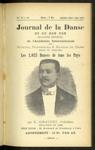 Le Journal de la danse et du bon ton, n. 35-41, septembre 1906-mars 1907