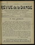 Revue de la danse, n. 5-6, septembre-décembre 1920