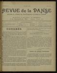 Revue de la danse, n. 10, mai 1921