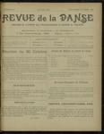 Revue de la danse, n. 14, septembre-octobre 1921