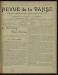 Revue de la danse, n. 16, décembre 1921