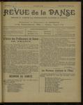 Revue de la danse, n. 7, janvier-février 1921