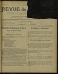 Revue de la danse, n. 8, mars 1921