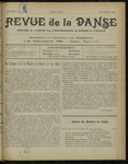 Revue de la danse, n. 18, février 1922