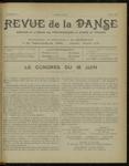 Revue de la danse, n. 21, mai 1922