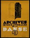 Archives internationales de la danse, n. 3, 15 juillet 1934