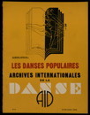 Archives internationales de la danse, n. 6, 15 décembre 1934
