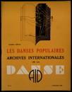 Archives internationales de la danse, n. 6, 5 novembe 1935