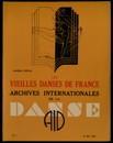 Archives internationales de la danse, n. 1, 15 mai 1936
