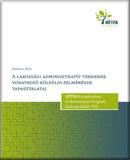 A lakossági adminisztratív terhekre vonatkozó külföldi felmérések tapasztalatai