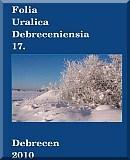 Folia Uralica Debreceniensia 17.: