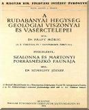 A Rudabányai hegység geológiai viszonyai és vasérctelepei: