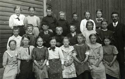 Klassebilde fra Tordenskjoldsgate skole