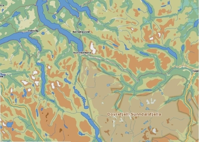 Fosnakulturen i Sunndalsfjella