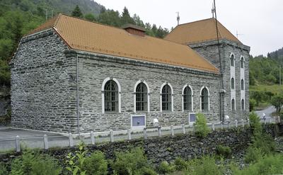 Kraftverket ved Herlandsfossen