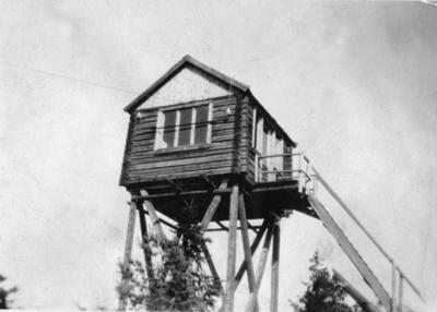 Vakttårnet på Linnekleppen