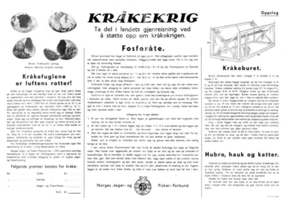 Luftas rotter – om kråkekrigen i Noreg.