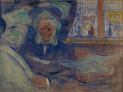 Edvard Munch og Henrik Ibsen på Grand